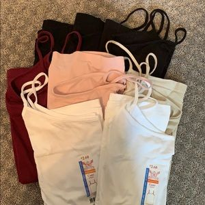 Lot of 8 Faded Glory Cami's Size 3X